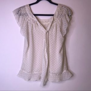 Chelsea & Violet Creamy White Blouse, Small